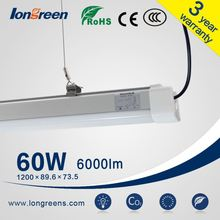 100 new fashion designers T8 double Lighting fixture With cover fluorescent Bracket T8 LED Tube