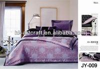 100% Cotton Jarquard Printing Design Used Bedsheets JY-009