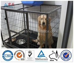 Heady duty dog cage for sale cheap/welded wire mesh dog cage op