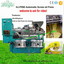 Quality Verified Price Competitive Stocks Available Oil Extraction Machine HJ-P80