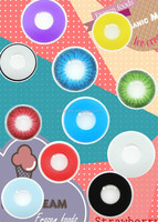 rainbow crazy contact lens cheap and watery fresh crazy contact lens