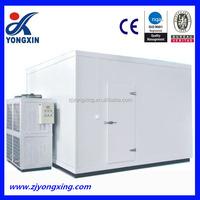 coldroom refrigeration unit big room , cold storage processing room , ice cream cooling room