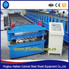 Double Layer Metal Wall Tiles Roll Forming Machine