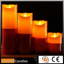 Brand new flameless led candle with various s lovely photo on it luminara candle tealight candles