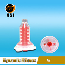 7# Red dental dynamic mixing cannula for 3M Pentamix for types of agitator