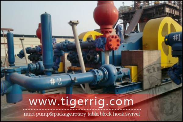 Emsco mud pump package driven by belt coupling motor for Mud motor electric clutch