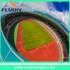 13mm Thickenss Sport surfaces Coating Spray running track Artificial Track field Waterproof synthetic rubber track material
