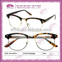 Hand Made Acetate Metal Combination High End Eyeglass Frames