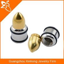 Steampunk jewelry stainless steel ear tunnel body jewelry making supplies