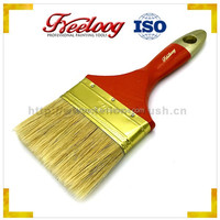 Industrial Soft Bristles Paint brush with Euro wooden handle Painting brush