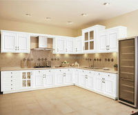 wall kitchen cabinet with rail plate holders