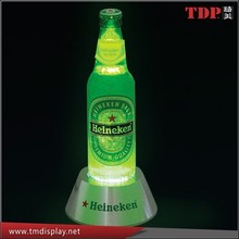 Manufacturer Acrylic Liquor Bottle Display, Acrylic LED Lighted With Laser Cutting for Promotion