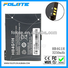 3250mAh HB4G1H Tablet Battery for Huawei S7 Slim IDEOS S7-201U/W