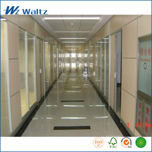 Top level high quality removable Eo grand wooden office wall partition system