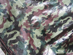 Camouflage design waterproof PE tarpaulin for camping/tent/covers