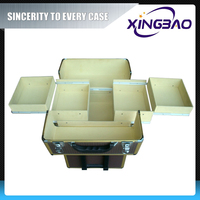 hard abs trolley case, hard aluminum trolley beauty case