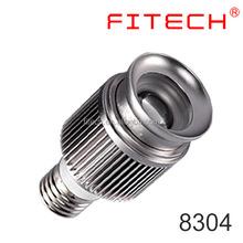 gu10 E27 base screw COB zoomable led spot light bulbs