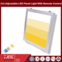 600x600 color temperature adjustable smd 2835 led panel lighting