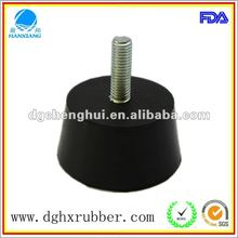 Environmental procection cone durable manufacturer made rubber vibration damper