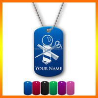 Best Price 2015 Wholesale Custom Metal Dog Tag With Chain