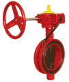 Tipo Wafer válvulas de mariposa, FM aprobado modelo no. WD-371X