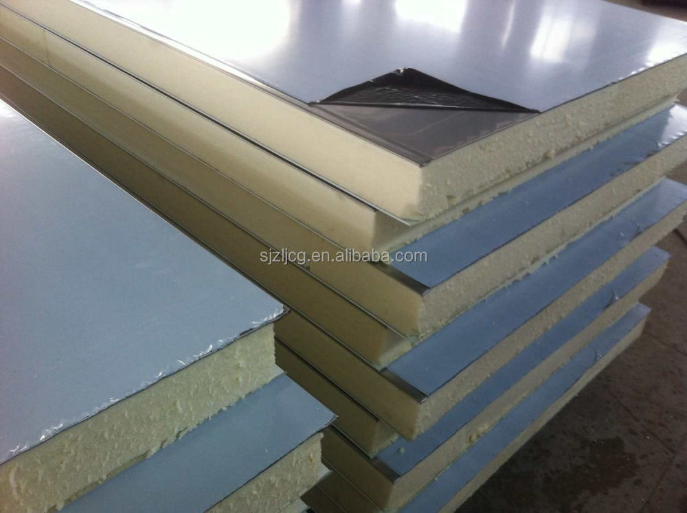 Polyurethane Foam Panels : Polyurethane foam pu sandwich panel for wall and roof