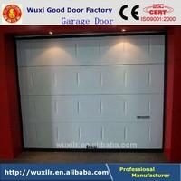 Security Overhead Sectional Garage Door with Window