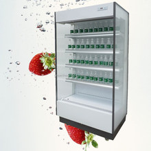 New Type Commercial Open Front Drink Cooler for wholesales