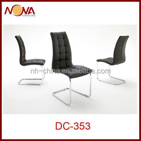 Comfortable modern leather dining chairs buy comfortable for Comfortable modern dining chairs