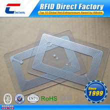 Blank Transparent PVC Business Chip Card,Clear Business Card With Customized Design
