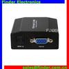 mini VGA to HDMI video converter with hdmi 1080p, vga to hdmi cable