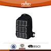 Promotional cheap custom logo solar panel backpack