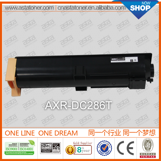Hot selling DC286T for xerox machine top quality products compatible toner used copiers for xerox