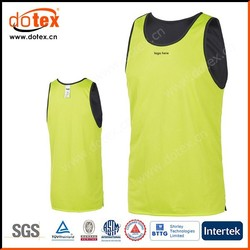 2015 wicking dry rapidly fit performance basketball sleeveless jersey