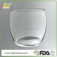 Professional manufacturer heat resistant unbreakable plastic drinking glasses