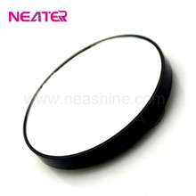 Small round plastic 12x magnify mirror,10x magnification makeup mirror,wall mirror