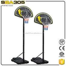 fiber glass basketball backboard with stand