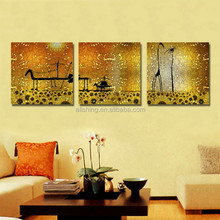 Wall painting pictures of flowers/inkjest printing flowers wall flowers rose and tulip