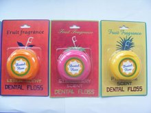 Fruit Dental Floss, Lemon, Apple, Pineapple and Strawberry