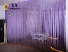 modern window polyester decorative string curtain