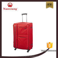 Nylon 1680D,carry-on types,soft travel luggage trolley