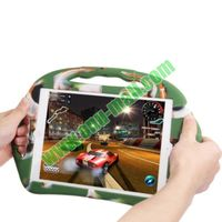 New Design Steering Wheel Style Silicone Handle Case for iPad Air