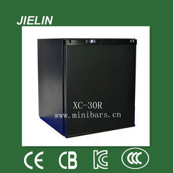 25litres single door solid door/glass door hotel minibars noiseless absorption refrigerator