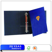 Paper file folder with metal fastener folder binder