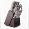 Masterchef 14pcs knife culterly set with block and steak knife