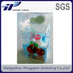 new design clear plastic box wholesale/ recycled printed plastic food box