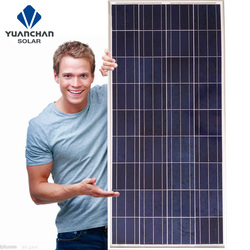 Yuanchan Polycrystalline Good 140w solar panels for sale