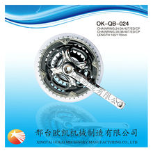 bicycle chainwheel crank / bicycle crank for bicycle parts