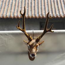 Christmas realistic wall hanging reindeer head