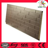 decorative heat preservation exterior sheet metal siding prices